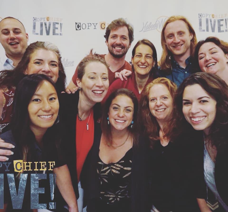 Comin' At Ya From Copy Chief Live! | Rachel Mazza