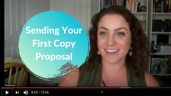 Sending Your First Proposal As A Freelance Copywriter