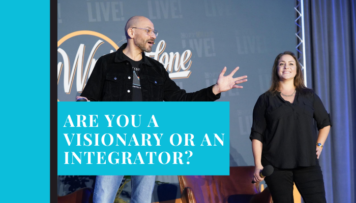 Are You A Visionary Or An Integrator?