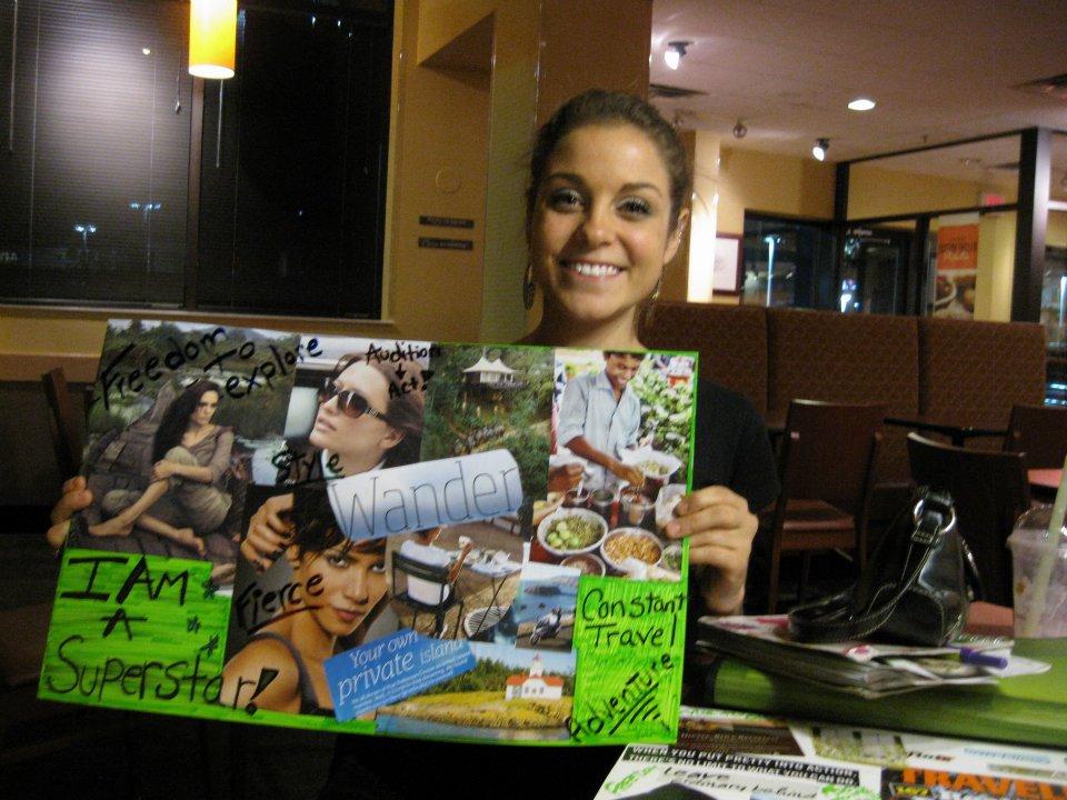 Rachel Mazza Dream Board
